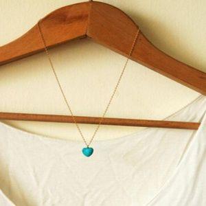 Jewelry - Stone Heart Pendant NWT